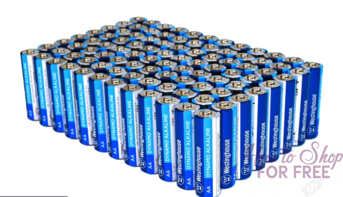 WOAH! HUGE savings on AA & AAA batteries! GO GO GO