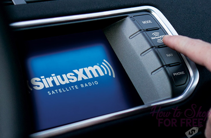 Get SiriusXM  for 6 months FREE + $25 Money Maker!