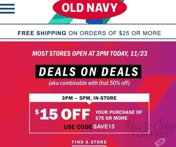 Get $150 worth of clothes for ONLY $48!! Old Navy Steals!