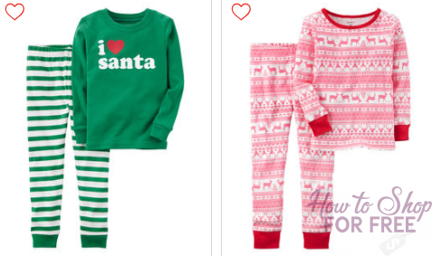 Carter's Black Friday Sale is LIVE NOW! 2-Piece Holiday Pajamas ONLY $5 Shipped & More