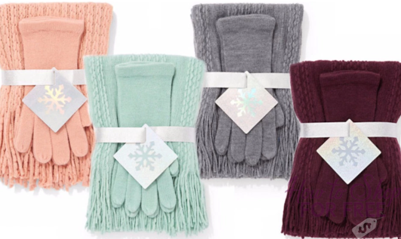 New York & Co Scarf/Glove Sets Only $4.75 Shipped (Regularly $23)- Great Gift Idea