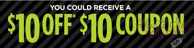 MARK YOUR CALENDARS! $10 off $10 Coupon Giveaway (11/25 Only)
