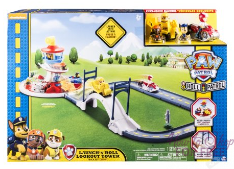 Paw Patrol Launch N Roll Lookout Tower Track Set ONLY $12.21 (Regularly $50)