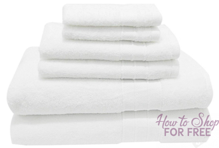 GLITCHHH! Threshold 6-Piece Towel Set ONLY $3.77 (Regularly $20)