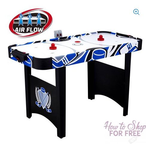 48 Inch Air Powered Hockey Table ONLY $26.88! STEAL!
