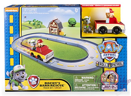 60% OFF – Paw Patrol Rocky's Barn Rescue Track Set