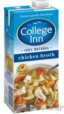 College Inn Broth ONLY 17¢ at Shaw's 11/17 ~ 11/23