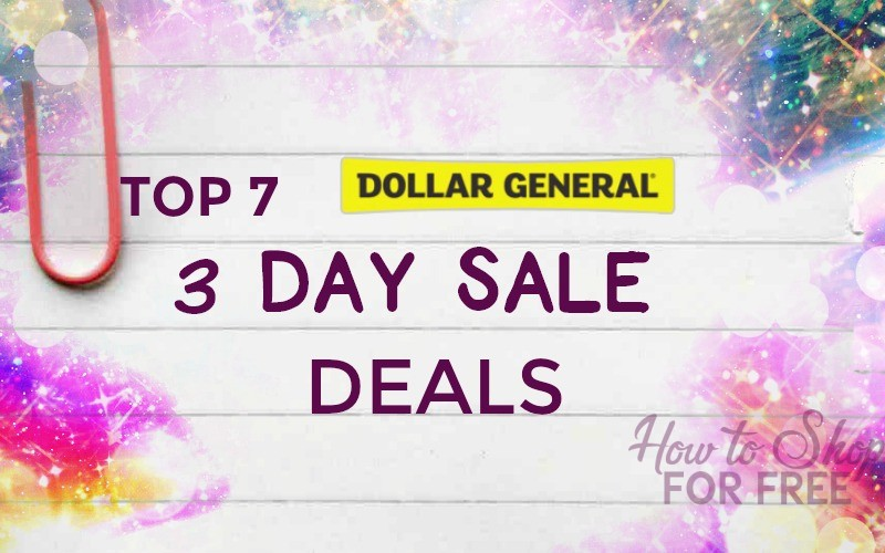 7 HOTTEST 3 Day Sale Items at Dollar General 11/19 – 11/22
