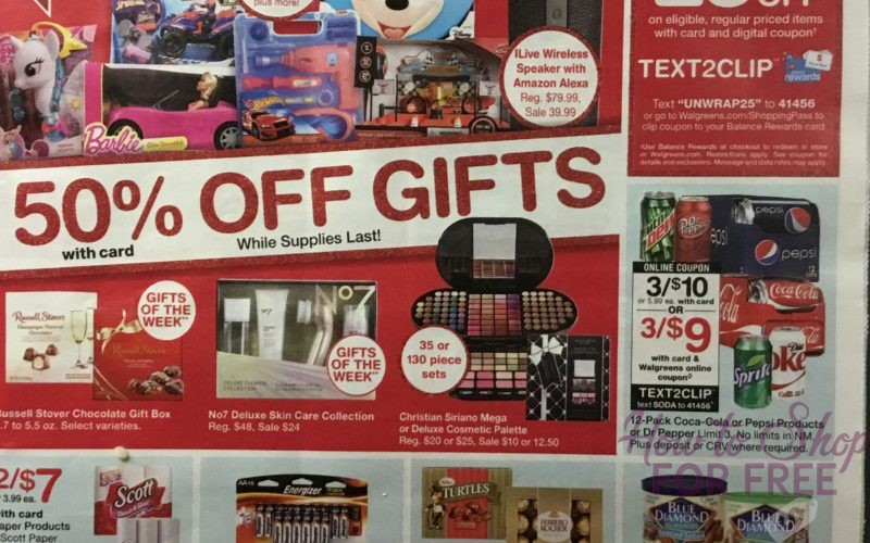 Walgreen's Black Friday Ad Scan