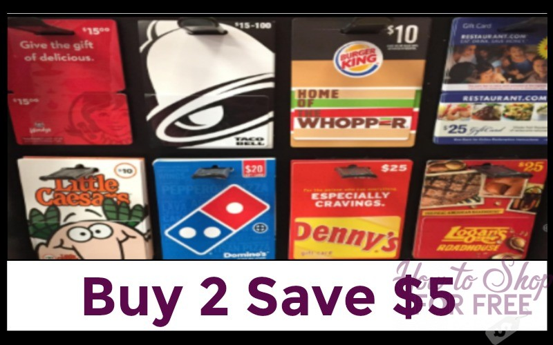 *HOT* $5 Off Two Gift Cards at Dollar General