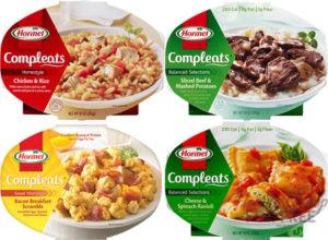 45¢ Hormel Compleats Meals!