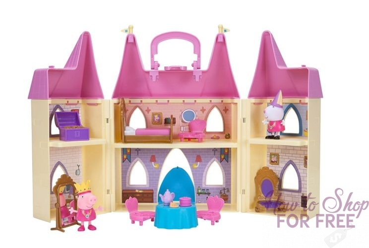 Peppa Pig Princess Castle Playset ONLY $17.97 (Regularly $35)