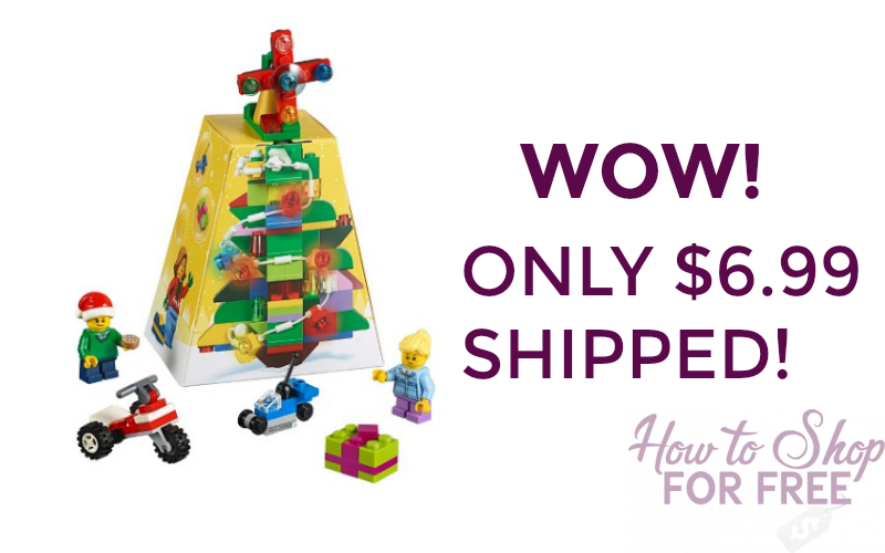 LEGO Creator Christmas Set Only $6.99 + Free Shipping!
