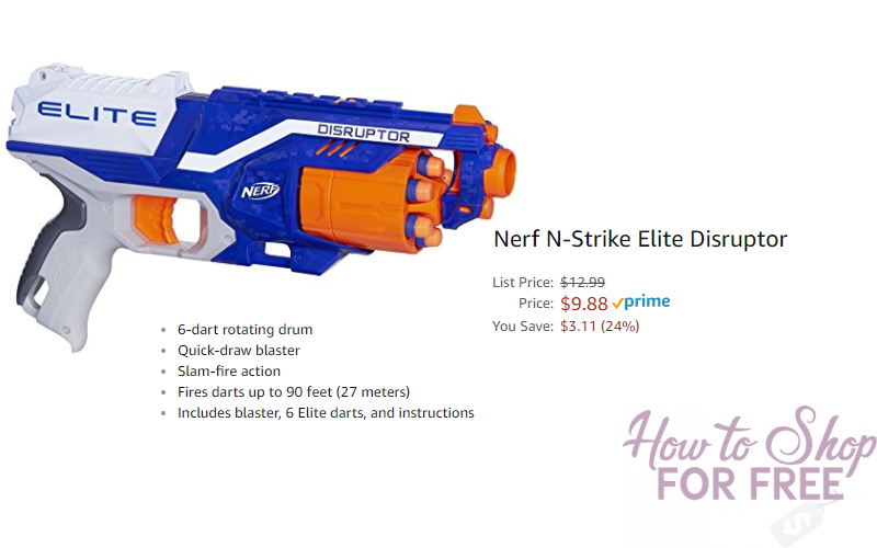 Nerf Gun How To Shop For Free With Kathy Spencer