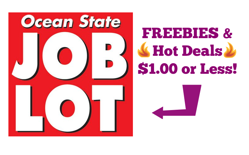 FREEBIES & Deals $1 or Less at Job Lot~ Updated with 2/11 Coupons!