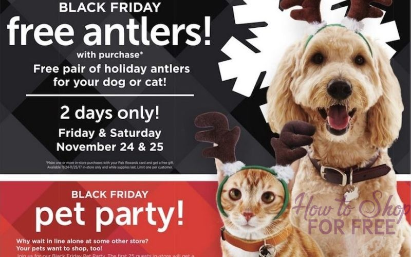 Petco is Having a Black Friday Pet Party ~ Get a FREE Gift Card or Mystery Gift ~ 11/24!