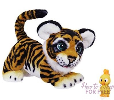 Save BIG on this HOT Toy! furReal Roarin' Tyler, the Playful Tiger