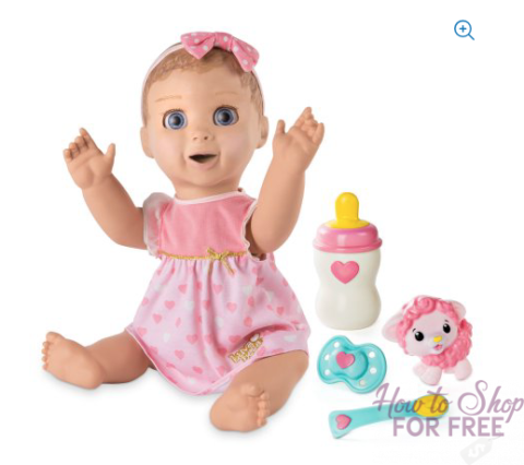Luvabella Responsive Baby Doll Blonde Hair