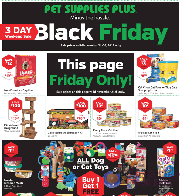 Pet Supplies Plus Black Friday Ad Scan 2017 How To Shop