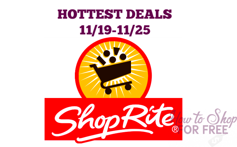 Hottest Sales at ShopRite starting 11/19!!