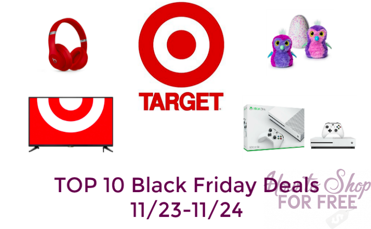 TOP 10 Black Friday Deals at Target (11/23-11/24)