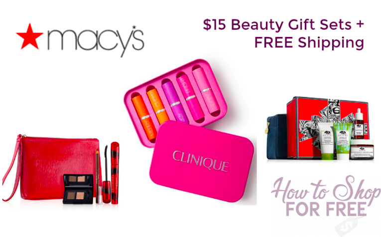 PERFECT GIFT IDEA- Beauty Gift Sets $15 + FREE Shipping!!