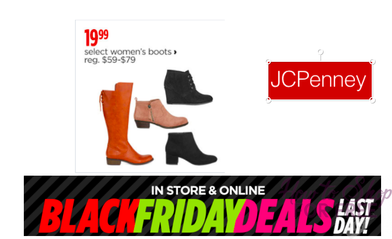 BLACK FRIDAY DEAL: Women's Boots ONLY $19.99!!