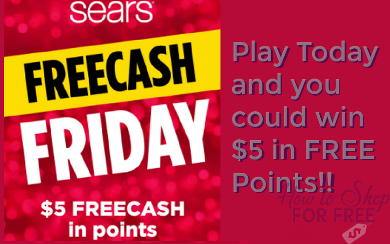 FREE $5 to Spend at Sears!!