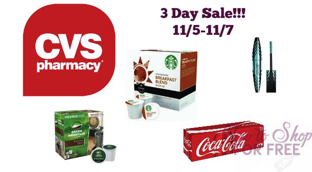CVS 3 Day Sale 11/5-11/7