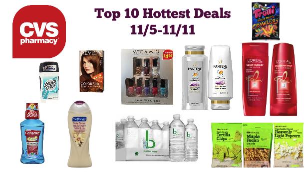 Top 10 Hottest Deals at CVS (11/5-11/11)