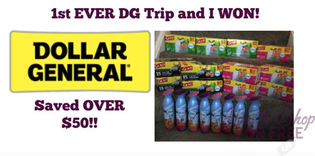 My FIRST EVER Dollar General Trip:  12 Glad Trash Bags + 8 FREE Febreze