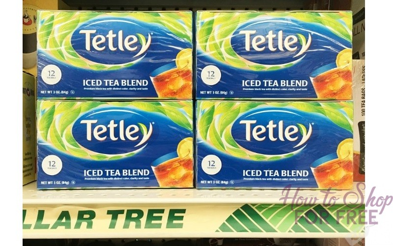 FREE Tetley Iced Tea at Dollar Tree!