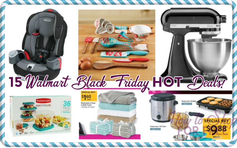 15 Walmart Black Friday deals you don't wanna miss!!!