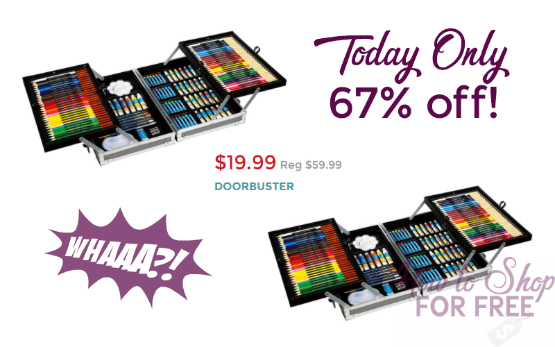 67% OFF 126pc. Art Set~ Today Only!