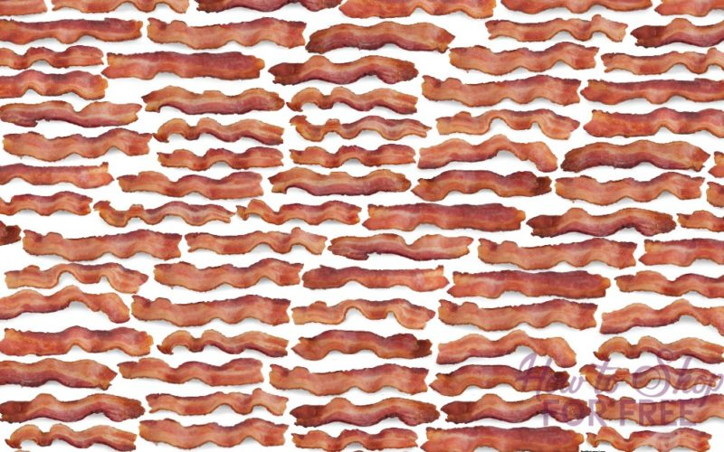 FREE Bacon Wrapping Paper!!! LOL, yes, for real!