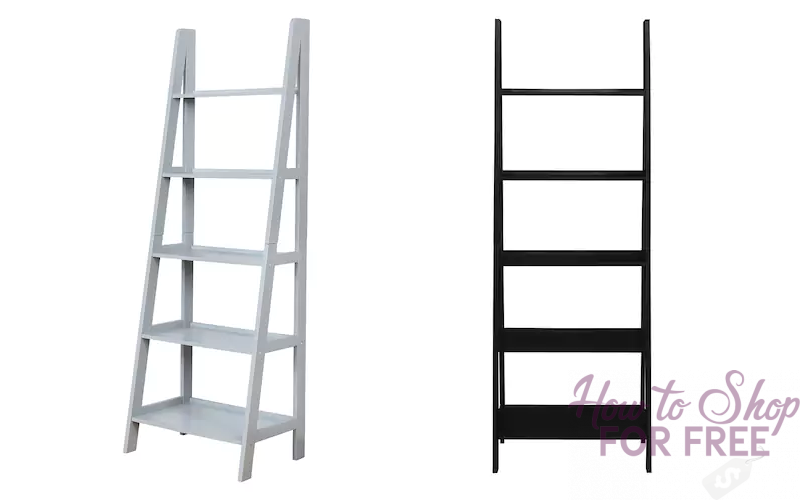 Stylish 5-Tier Bookshelf ONLY $44!! (Was $150)