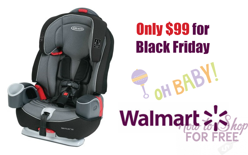 $50 OFF Graco Nautilus Booster for Black Friday!