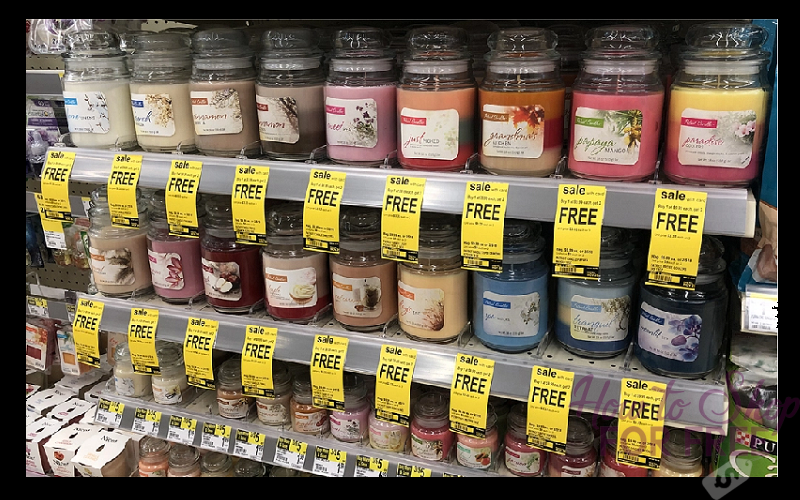 Large Jar Candles Only $3.33 at Walgreen's