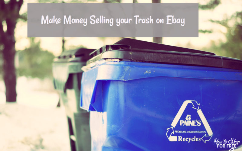 Make Money Selling your Trash on Ebay