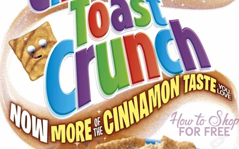 Cinnamon Toast Crunch Only $.74 + FREE Milk at Walgreen's