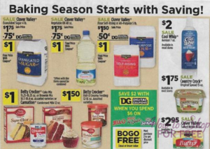 Clover Valley Baking Products Only 1 At Dollar General