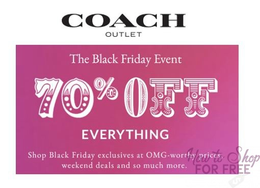 70% off Coach!  ~ Items as low as $15!!!!