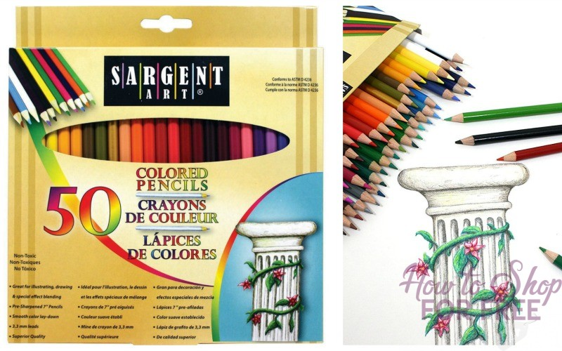 50ct. Premium Coloring Pencils UNDER $4!!!