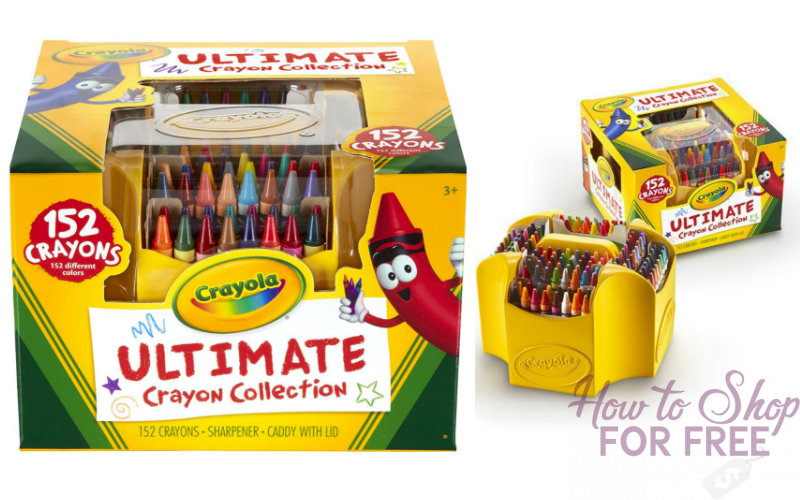 152pc. Crayola Ultimate Art Set~ ONLY $8!