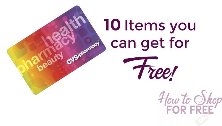 10 Items you can get for FREE at CVS!  + MM's!