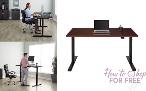 Prime 160 Adjustable Desk How To Shop For Free With Kathy Spencer Home Interior And Landscaping Palasignezvosmurscom