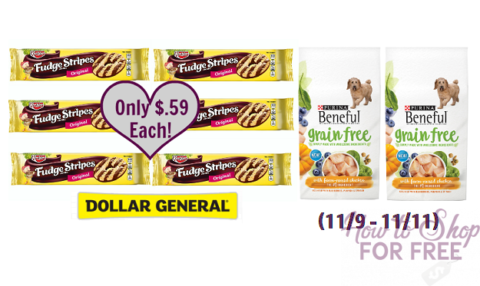 Dollar General Dog Food Scenario Nov