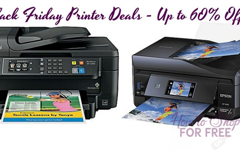 Staples~ Epson Printers up to 60% OFF for Black Friday!