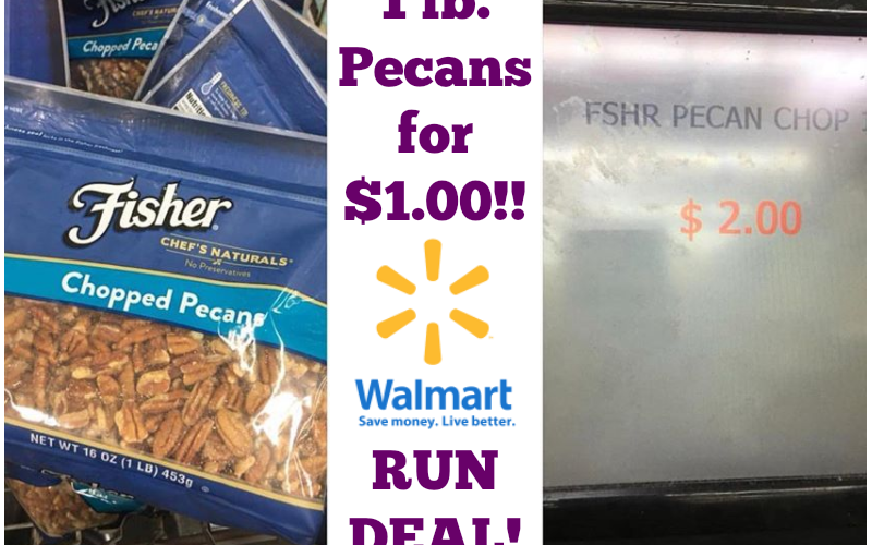 One Pound of Pecans for A BUCK!!!!!