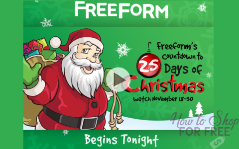 Freeform Christmas Schedule.Freeform Xmas Flicks How To Shop For Free With Kathy Spencer